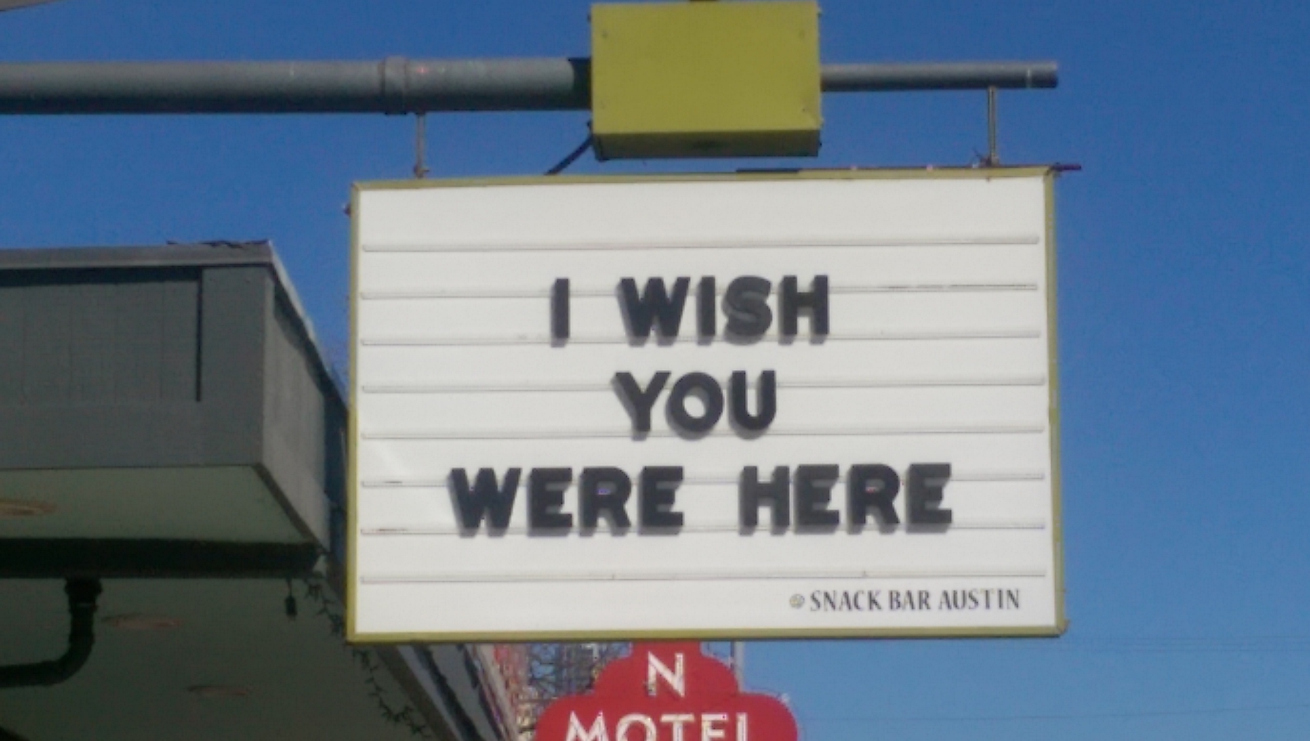 austin wish you were here